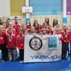 Gold medals to YABIMO's Ju-Jitsu team