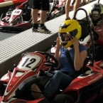 Gokart driving - a great team outing