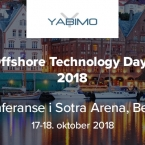 YABIMO at OTD – Offshore Technology Days 2018, Norway