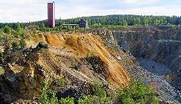 Scaffolders in Gällivare, Sweden