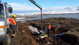Fitters and welders in the North of Iceland