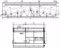 Steel hall construction