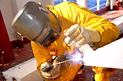 Welders and pipefitters in Denmark