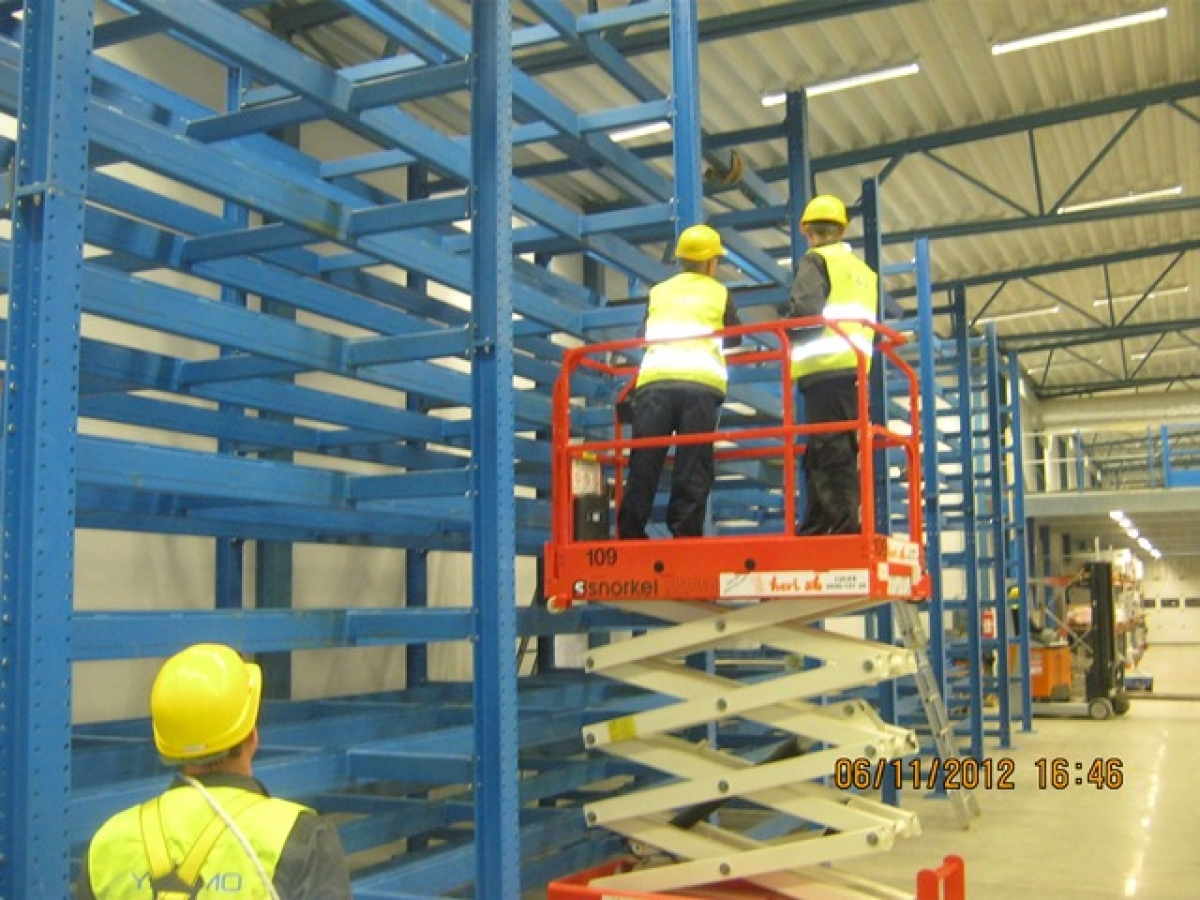 Construction production and assembly in Kalix - north of ...