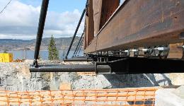 Støjordet steel bridge construction, Norway