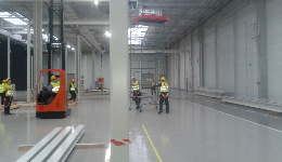 Cleanroom construction for American Automotive, Poland