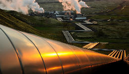 Pipefitters' team at geothermal plant in Iceland