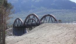 Kasa steel bridge, Norway