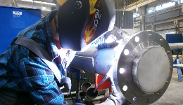 Personnel: welders at our subsea client in the area of Mongstad, Norway