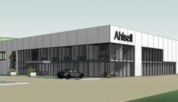 Ahlsell steel hall