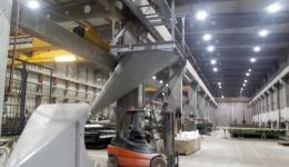 Refurbishing of precast concrete factory in Borgarnes, Iceland