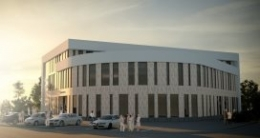 New offices load bearing steel construction, Norway