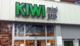 KIWI supermarket steel construction, Norway