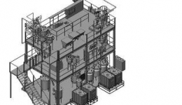 Complete test module at the Yara Porsgrunn plant, Norway