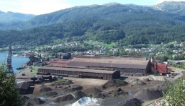 Steel delivery to Magnesium Plant, Norway