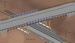 Storhovearmen steel bridge construction, Norway