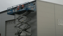Sandwich panels - delivery and assembly in Mongstad, Norway